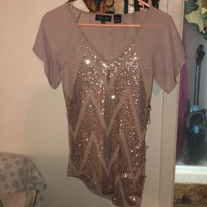 Sequined Miss Me Top